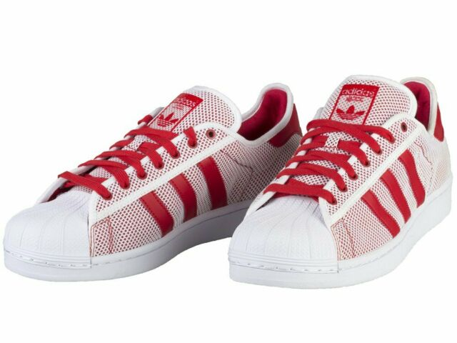 adidas superstar adicolor red