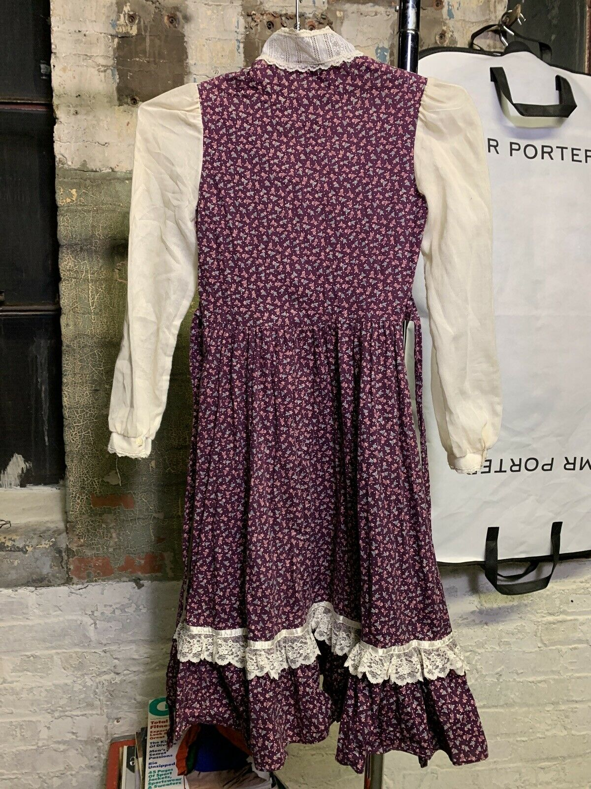 gunne sax 1970s women's vintage dress - image 9