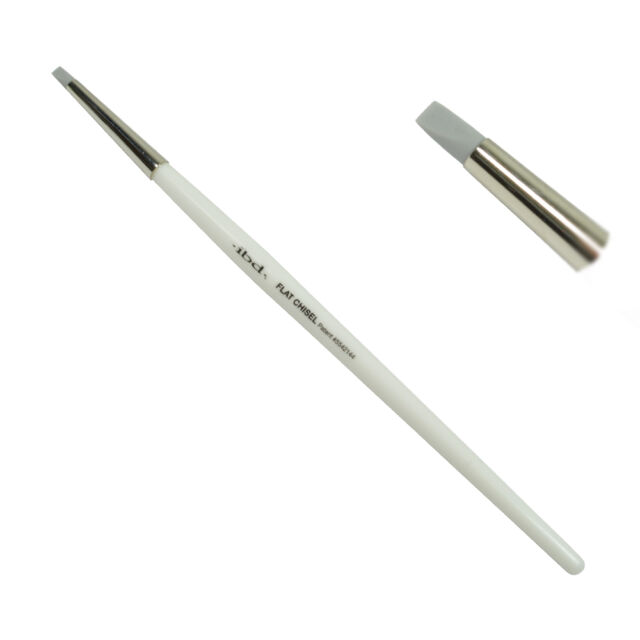 ibd Soft Touch Silicone Brushes 56846 - Flat Chisel