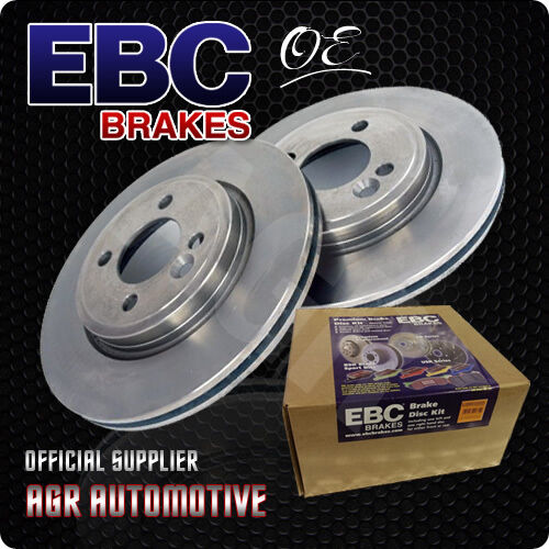 EBC PREMIUM OE FRONT DISCS D1398 FOR VAUXHALL CORSA VAN 1.3 TD 75 BHP 2006