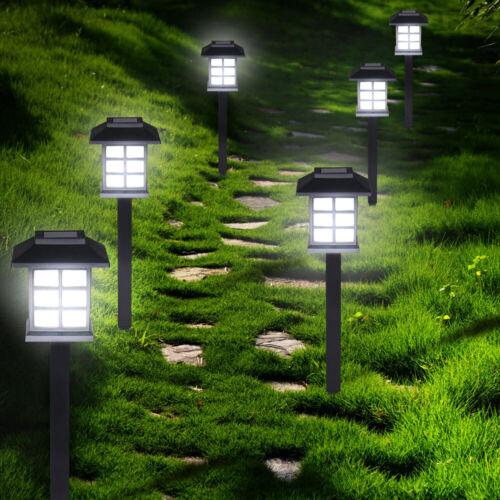 6-24x DEL lampe solaire lampe de jardin Lampe extérieure lampe solaire éclairage Lampe