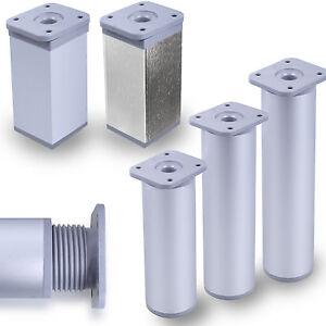 Mobelfus-alu-mobelfuse-sockelfus-Acier-Inoxydable-Optik-40mm-pied-schrankfus-pieds-metal