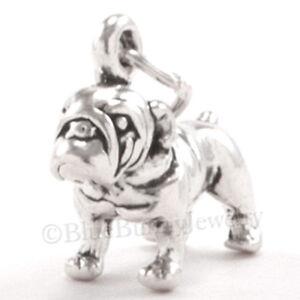 BULLDOG-Bull-Dog-Charm-Pendant-solid-925-Sterling-Silver-3D