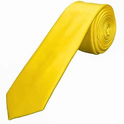 Acquista A Buon Mercato Fatto A Mano Giallo Sunshine Raso Skinny Men's Tie Cravatta Sottile Da Matrimonio Cravatta Cravatta Sottile-mostra Il Titolo Originale Lucentezza Luminosa