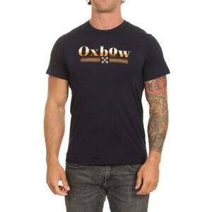 Oxbow-Tiber-T-Shirt-Profond-Marine-Oxbow-Vetements-Homme-T-Shirts