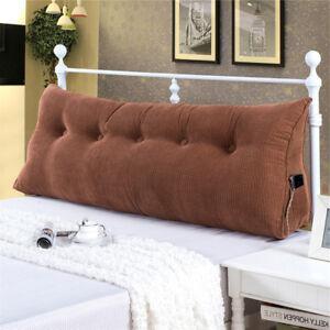 Backrest Lumbar Daybed Cushion Bolster Headboard Triangular New Design stylish
