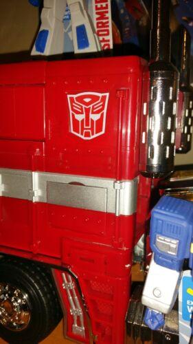 Autobot Logo Emblem for Lewin 71cm MP10 Optimus Prime METAL Custom WORLDWIDE