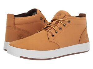 ee41744bb9d Details about Men's Shoes Timberland DAVIS SQUARE Mixed Media Chukka  Sneakers TB0A1013 WHEAT