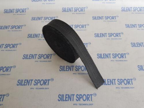 //calore nastro di protezione 3cmx10m-Nero sottile originale SILENT SCARICO SPORTIVO NUOVO