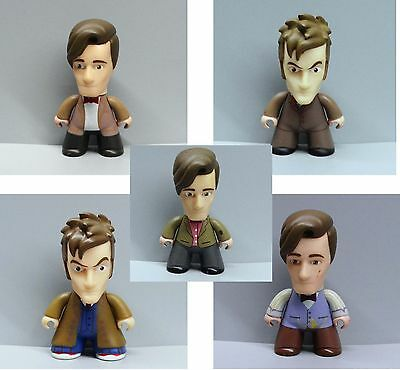 """TITAN DOCTOR WHO THE 11TH DOCTOR  VINYL ACTION FIGURE 3/""""  Nq1"""