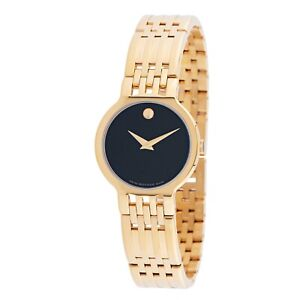 Movado 0607149 Women's Esperanza Black Quartz Watch
