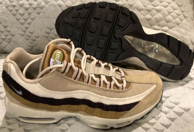 Nike Air Max 95 Premium Shoes Desert Brown Tan Suede 538416