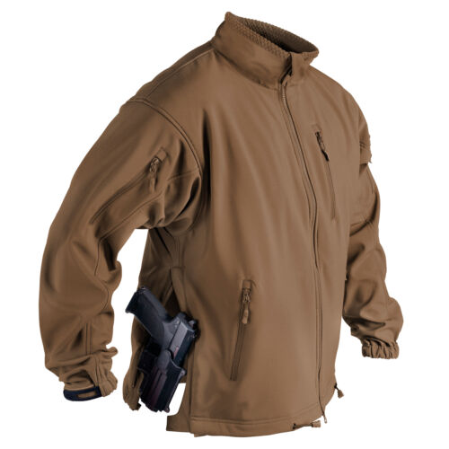 Helikon Tex Chacal Veste Qsa ™ Requin Skin Soft Shell Coyote Marron Bl-Jck-F