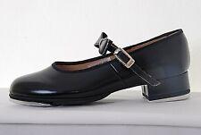 "SO324 Kickline Stage Shoes Black 2.5/"" Heel  324 Bloch S0324"