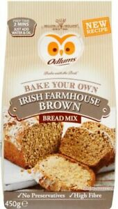 Odlums Quick Bread Farmhouse Brown 450g (Pack of 4) - Sold by DSDelta Ltd