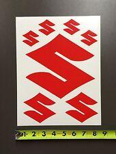 Suzuki Racing Decal Sticker Sheet Motorcycle ATV RMZ KING QUAD LTR LTZ RM GSXR