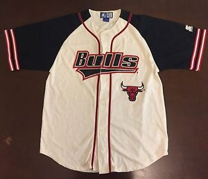newest a3ba2 281d1 chicago bulls baseball shirt