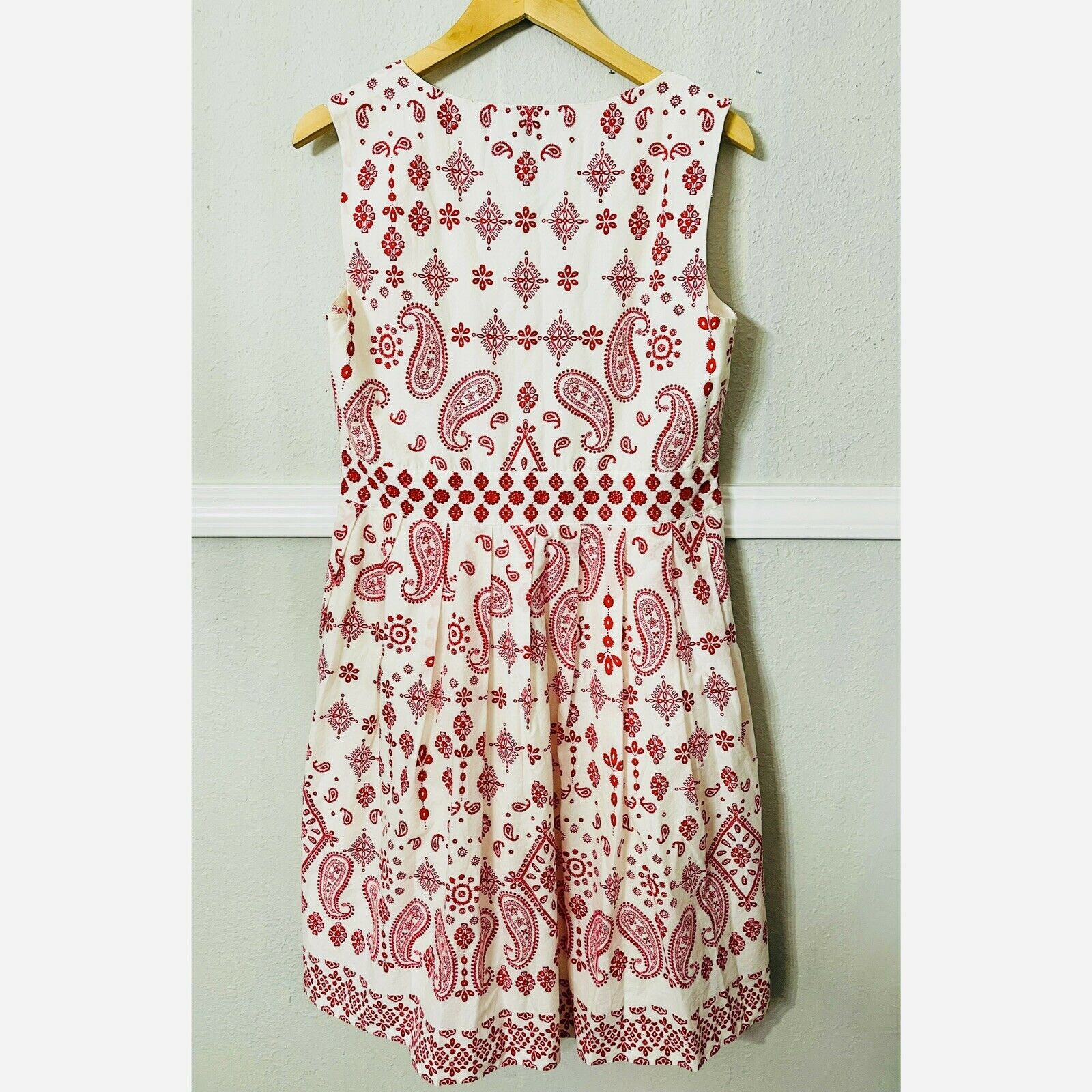 talbots embroidered dress - image 2