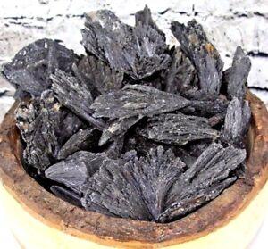2-lb-Natural-High-Quality-Black-Kyanite-Crystal-Quartz-Rough-Stone-From-Brazil