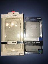 Lot Of 2pc Tech21 Samsung Galaxy Note 5 Clear Original Case , Casemate Case Glam