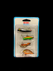 Details about  /Rebel Lures 4 Pack Crankbaits Brand New