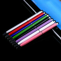 2in1 Capacitive Touch Screen Stylus Ball Point Pen for iPad 2 for iPhone 4 4S FT