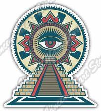"Mayan Chichen Itza Temple Maya Mexico Aztec Car Bumper Vinyl Sticker Decal 4""X5"""