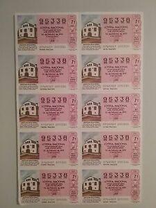Billete-entero-Loteria-Nacional-sorteo-7-1991-16-de-Febrero-MAS-A-CATALANA