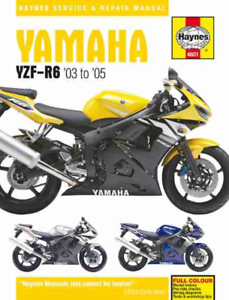 Haynes Manuale Officina YAMAHA YZF-R6 2003-2005 Service Riparazione