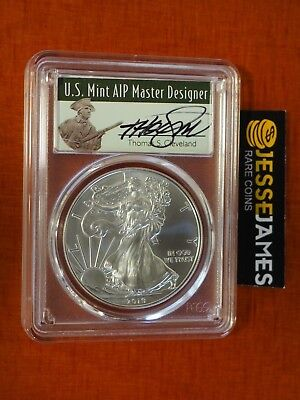 2019 W PROOF SILVER EAGLE PCGS PR70 CLEVELAND FIRST DAY ISSUE MINUTEMAN POP 100