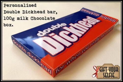 grande idée de cadeau. Personnalisé 100 G ingrat chocolat au lait Boîte