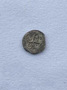 Anglo Saxon Sceat Woden Head Superb Reverse