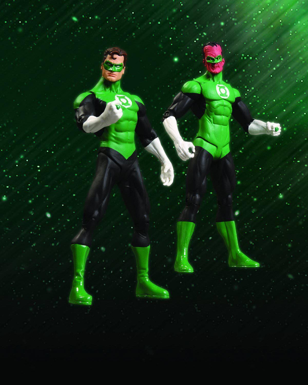 DC Direct verde Lantern Rebirth Action Figure Collector Set