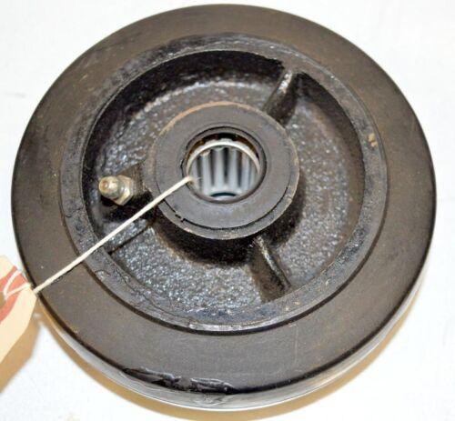 """w//Zerl Fittin 3//4/"""" Roller Bearing #6456-1 pc 5/"""" x 1.5/"""" Rubber on Cast Wheel"""