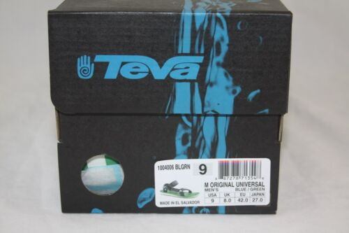 MEN/'S TAVA ORIGINAL UNIVERSAL SANDAL  1004006 BLGRN BLUE//GREEN SIZE 9/&10 AVAL.