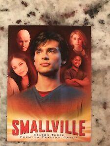 Verzamelingen Smallville Season 3 Promo Card SM3-SD Niet-sportkaarten