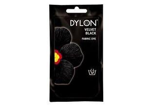 Dylon Permanent Fabric Dye 1.75 Oz Velvet Black