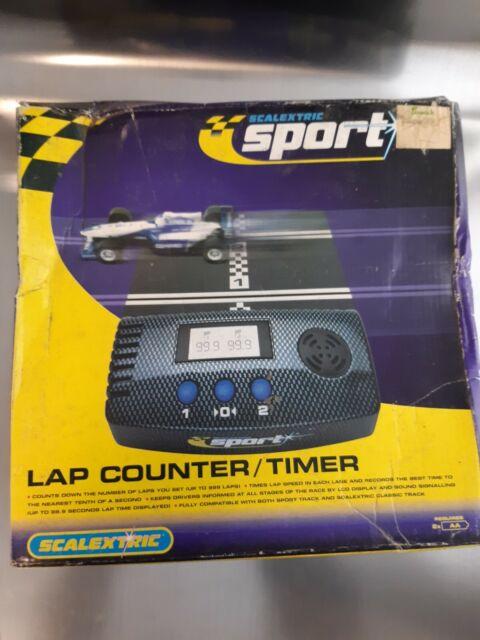Scalextric Sport Digital C8215 Sport Classic Lap Counter & Converter Track Boxed