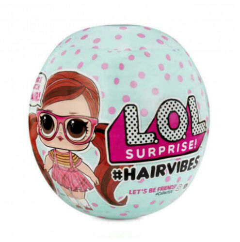 LOL SURPRISE HAIRVIBES LAST ONE IN STOCK! 1 BALL AUTHENTIC