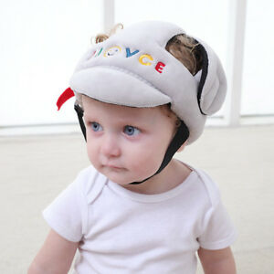 40af6e545e79d Babies Kids Anti-fall Head Protection Hat Infant Toddler Safety ...