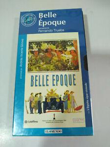 Belle Epoque Fernando Trueba Penelope cruz - VHS Nastro Spagnolo Nuovo - 3T