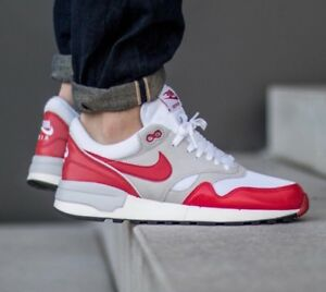 27ec7db1a92 Nike Air Odyssey OG University Red White Sail Grey Anniversary Air ...