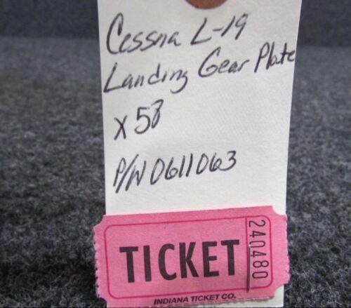 0611063 Cessna L-19 Landing Gear Plate