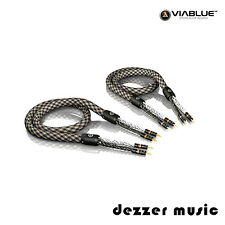 ViaBlue 2x 8,00m SC-6 Air Silver Single-Wire Lautsprecherkabel/High End Referenz