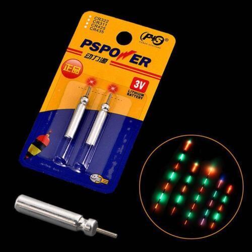 Night Fishing Electronic Luminous Float Battery 10PCS CR-1.2.3 Soft Tail