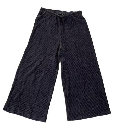 Gudrun Sjoden Sjödén Large Corduroy Gray Pants Pul