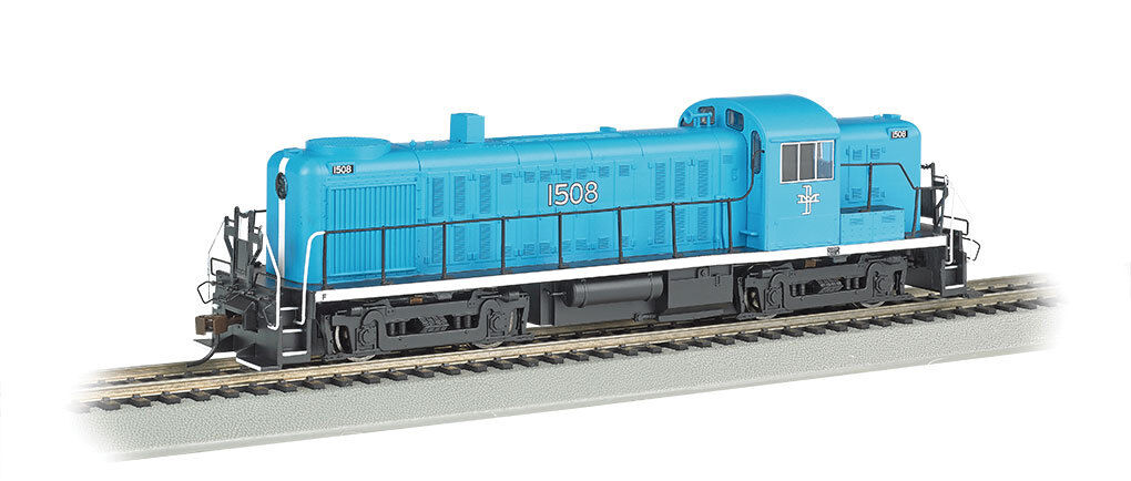 Scala H0 - Bachmann Locomotiva Diesel RS3 Boston & Maine con E-Z Comando 68604
