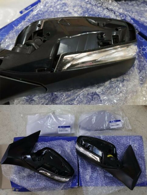 Heated Folding Repeater Back Mirror Cover For Hyundai Accent Solaris 2011 2016