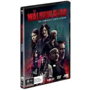 The Walking Dead Season 10 DVD Region 4 Post