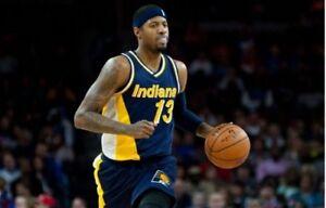43596bbd17a2 Mitchell   Ness Swingman NBA Jersey Indiana Pacers  13 Mark Jackson ...